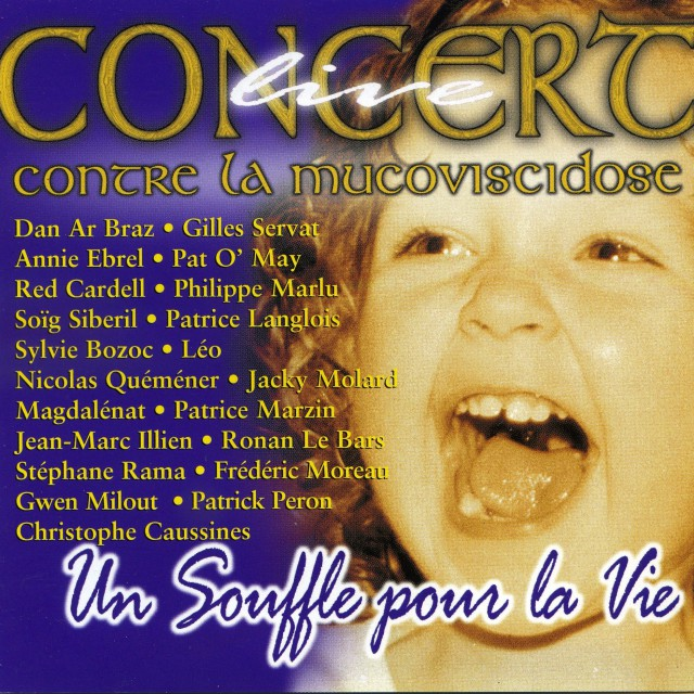"""2002 Concert Contre La Mucoviscidose """"Un souffle pour la Vie"""""""